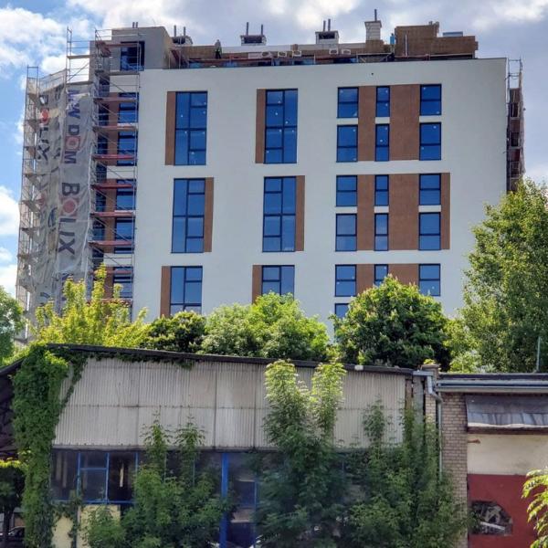 N.01 Wola City Loft budowa